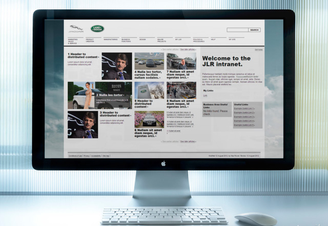 Jaguar Land Rover screenshot 1
