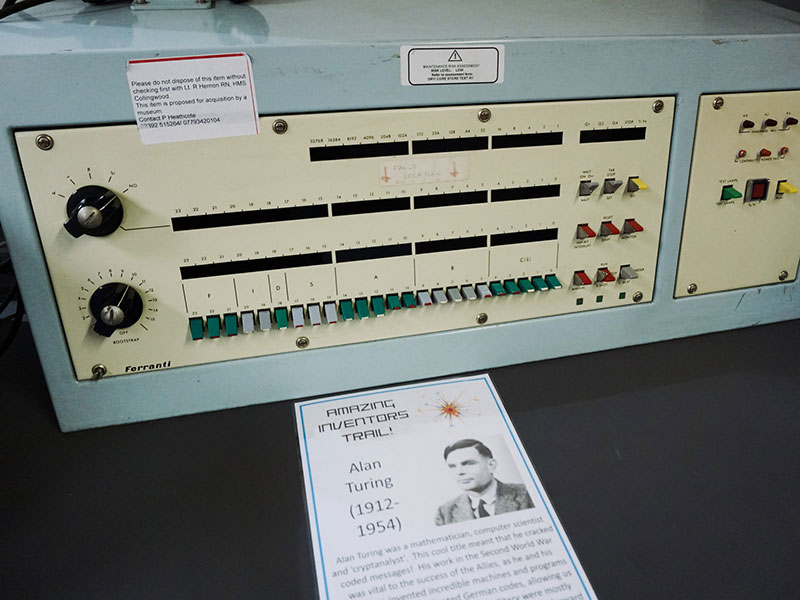 Turing Ferranti machine